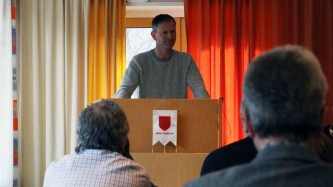 HALLELUJA: Det sa Senterparti-representant Ole Bjarne Hovland då kommunestyret handsama sluttrapporten for helsehuset. Der kom det fram at prosjektet ikkje kosta meir enn budsjettert.