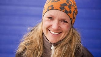 KJEM: Sigri Sandberg kjem for å snakke om kvinner i klatresporten.