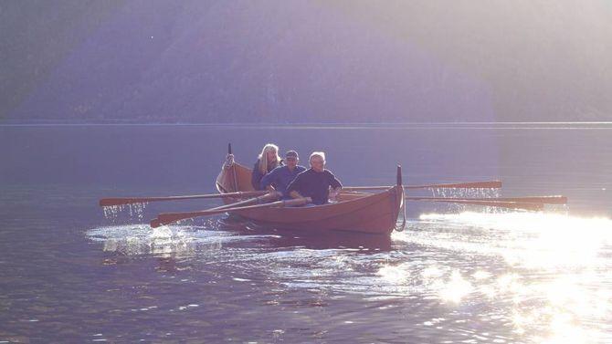 SOGNEBÅT: Igjen skal Sognebåtane spele ei viktig rolle for Nasjonalparkfestivalen.