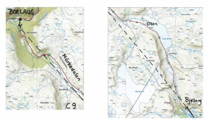 NY TUNNEL: Slik er det tenkt at vegen over, eller under Hemsedalsfjellet, skal gå. Teikning: Statens vegvesen.