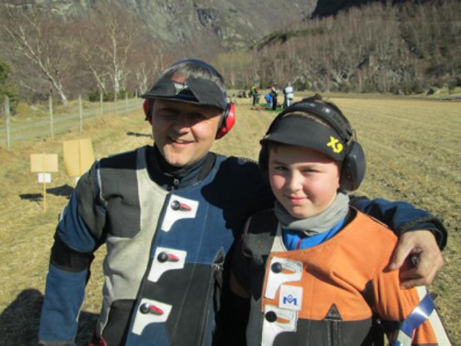VANN: Vinnarar av klasse 4 og R, Asle og Tor Kristian Dulsvik.