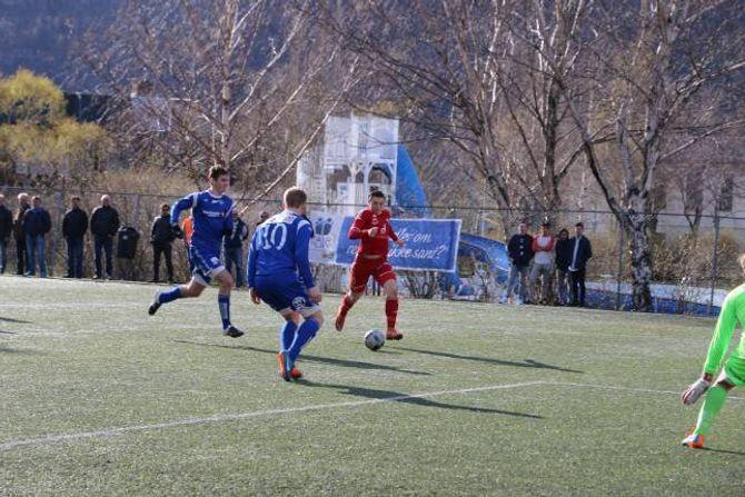 DEBUTANT: Anders Lereng debuterte i kampen mot Kongsvinger.