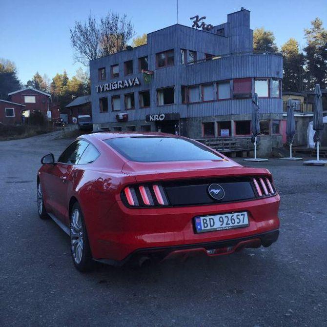 STOR ETTERSPØRSEL: For første gong sidan 1960-talet blir Ford Mustang seld gjennom den norske importøren.