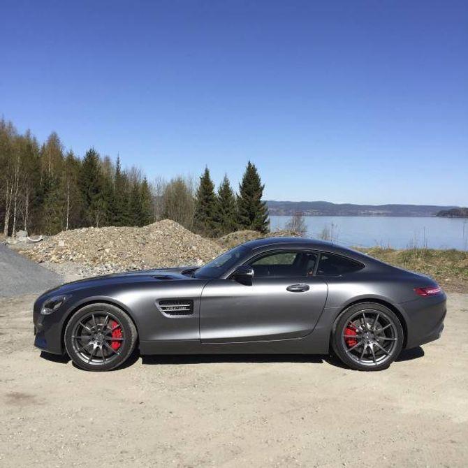 OGSÅ PÅ LISTA: Mercedes-Benz' spesielle sportsbil AMG GT S kostar nærare to millionar kroner.