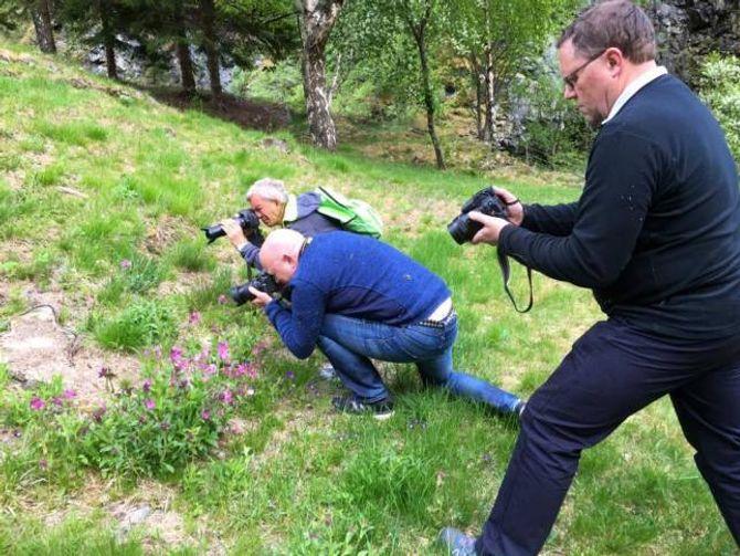 KURS: Bjørn Bergum haldt naturfotokurs på torsdag.