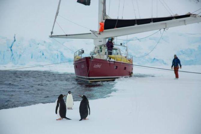 TUR:I desember 2014 var Tore F. Lie med på å seglatil den Antarktiske halvøya for å gå toppturer der i regi av guidefirmaetBreogfjell.