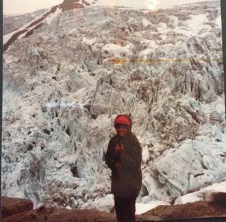 BREVANDRING: Berit Vetti har gått på dei fleste breane i Noreg.