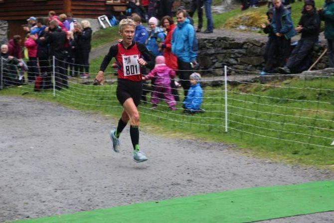 SPREK: Anna M. Tråve har framleis løyperekorden for kvinner. I dag sprang ho sitt 19. løp.