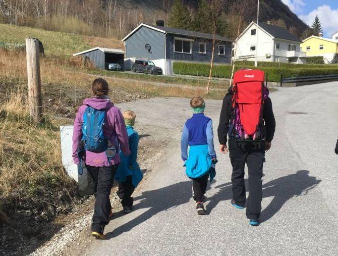 ERSTATTA: Trimløpet«Tangen på Kanten» skal føregå under Fjord til Fjell og erstattar Aosen Opp.
