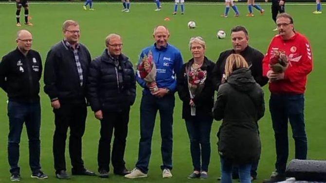 SERTIFISERING: Jotun er ein av fire klubbar som søndag mottok sertifiseringa. Dei andre klubbane er Førde, Sandane og Stryn.