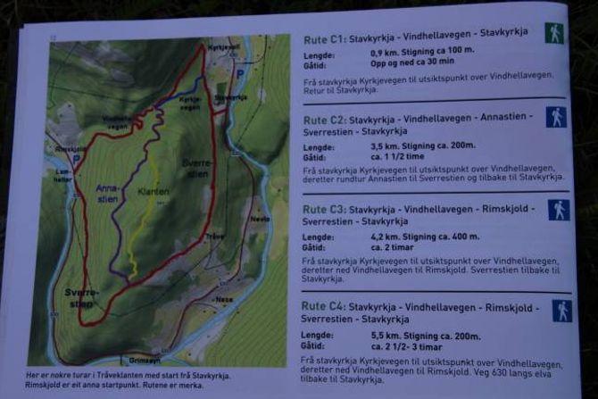 GODT ARBEID: Årdal har gjort eit nøye arbeid med å dokumentere rutene og teikne dei inn på kartet.