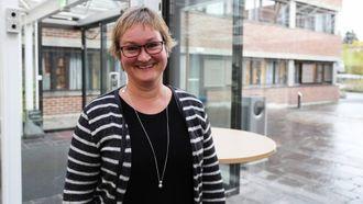 STOLT: Dina Lefdal er stolt og kry over namneprisen.