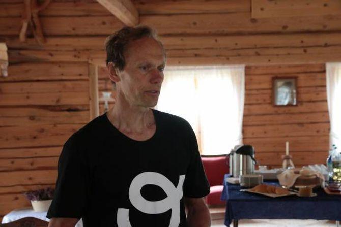 LANSERING: Dag Nordsveen kunne stolt lansere appen «Outtt» internasjonalt.