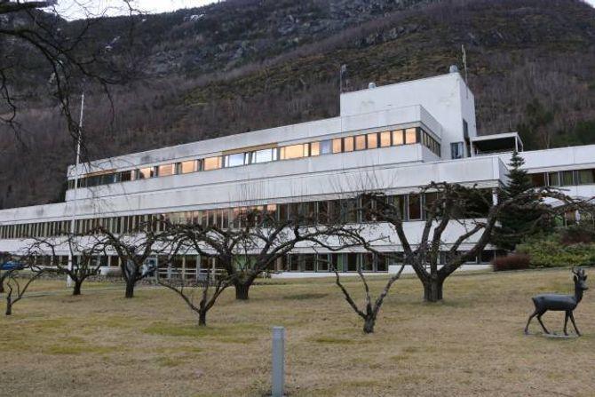 UTVIKLA: Strukturen på Lærdal sjukehus vart bygd for nesten 50 år sidan. No er det på tide med ombygging og utvikling, meiner arbeidsgruppa.