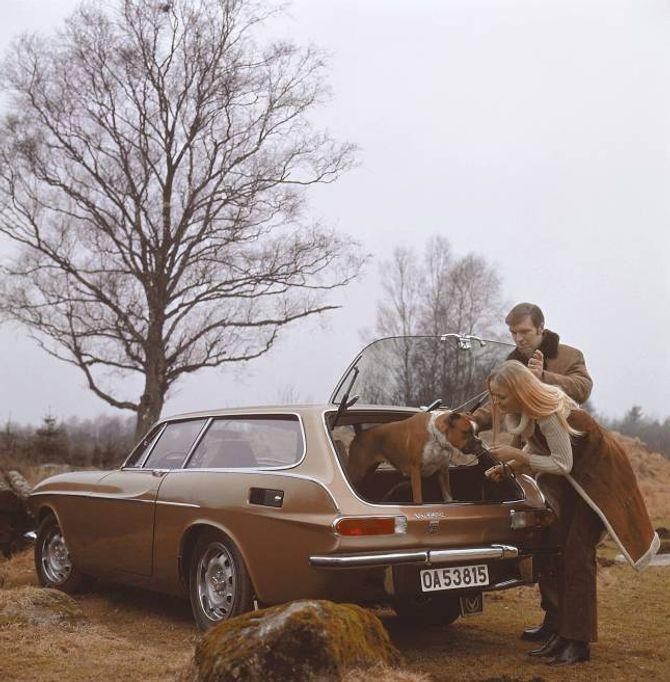 SJELDAN: 1800 ES er den av Volvo sine stasjonsvogner det er laget færrast av.