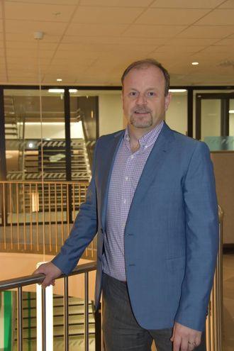 BALLEN HJÅ KOMMUNEN:Arve Tjønn Rinde, avdelingsdirektør Trafikant- og køyretøyavdelingai Statens Vegvesen region Vest.