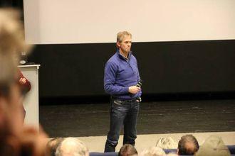 STORT APPARAT:Erik Lund, seniorrådgjevar i Miljødirektoratet. Foto Ole Ramshus Sælthu