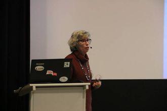 SLIK STARTA DET:Sylvie Benestad, seniorforskar ved Veterinærinstituttet,