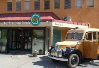 Medeigar: Luster Sparebank er ein av fleire lokale bankar som no er medeigar i Vipps.
