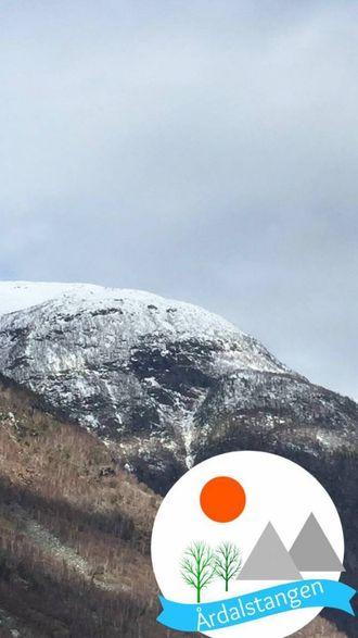 ÅRDALSTANGEN: Slik ser geofilteret for Årdalstangen ut.