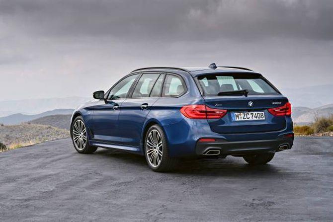 TOURING: BMW har nettopp lansert ein ny 5-serie, og sjølvsagt kjem han snart som stasjonsvogn.