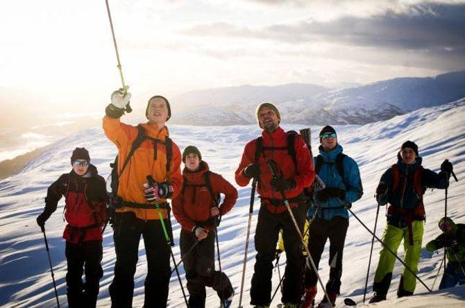 SKI: At Sogndal, først og fremst gjennom arbeidet Bratt Moro har gjort, har fått ei merkevare som skidestinasjon er noko folkehøgskulen ser ut til å nyta godt av.