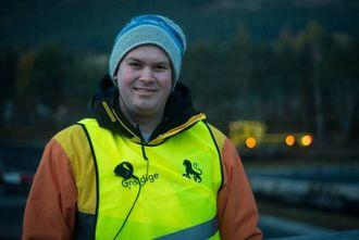 STORT: Alvin Lægreid iMotorsport Indre Sogn seier driftinghelga på Kaupanger er årets høgdepunkt.