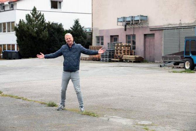 STORE PLANAR: Frank Westad kviler ikkje eit sekund og ønskjer å skape noko stort på Aurlandsvangen.