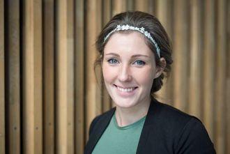 SNUVENDING: Ingrid Moe Albrigtsen representerer studentane i det mellombelse styret til Høgskulen på Vestlandet. Frå å vere kritisk til fusjon, ønskjer ho no å vere mest mogleg ambisiøs med tanke på kva dei kan oppnå.