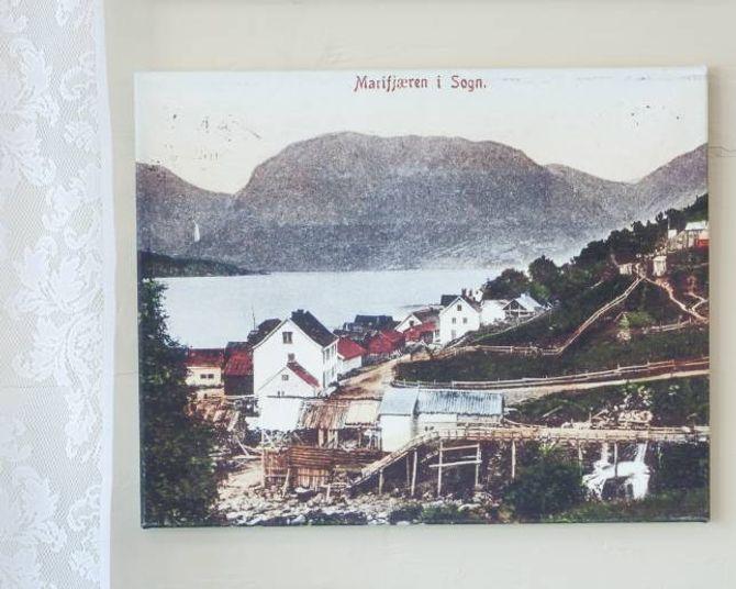 Før familien flytta til Marifjøra hadde dei vorei Nord-Noreg og sett på ein mjølkegard ogein strutsegard, men dei endte til slutt opp med hytteutleige i Sogn.