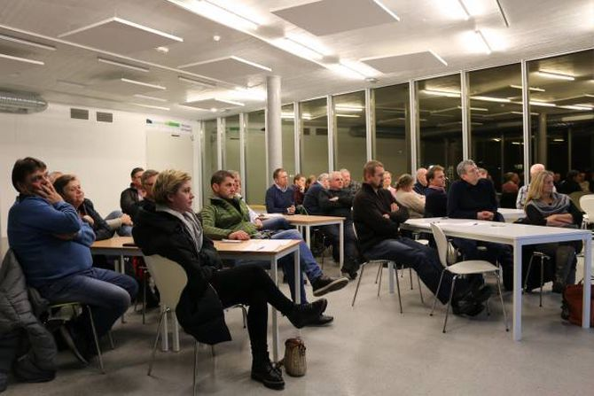 TATAKI: Å få på plass ein utviklingskultur i Lærdal er hovudpoenget med Tataki-kaféane.