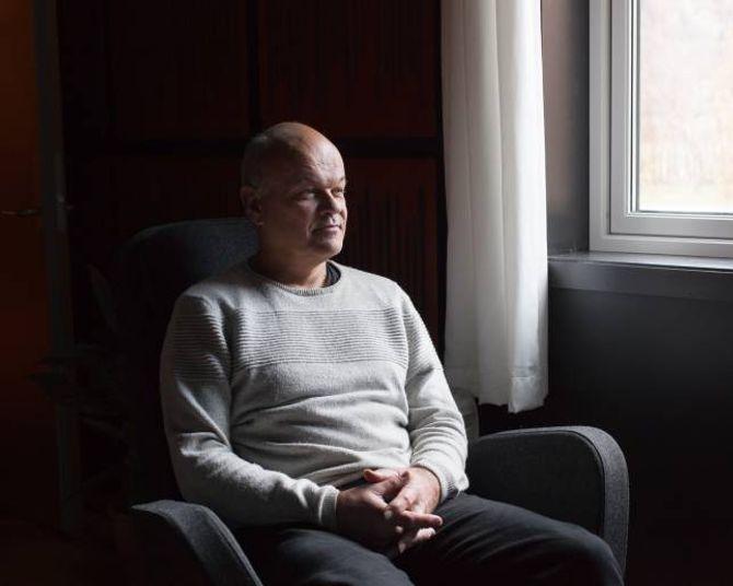 Tom Karlsrud i Lærdal Musikkproduksjon kom til Lærdal som musikkskulelærar, no bur han i Aurland.