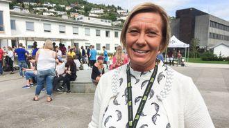 SISTE INNSATS: Å fullføre detaljreguleringa av det nye studenthuset i Sogndal er noko av det siste SISOF-direktør Randi Marie Sjøholt gjer før ho går ut i ny jobb frå nyttår.