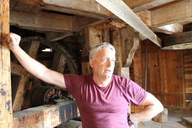 DUGNAD: Harald Thune er ein av fleire som har lagt ned enorme mengder dugnadstimar på anlegget dei siste åra.