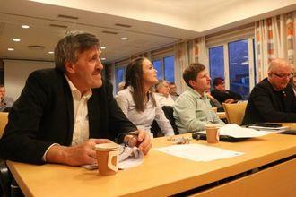 NY RETNING: Erling Offerdal (Sp) seier koalisjonen har vist ei ny retning i politikken med sine framlegg.
