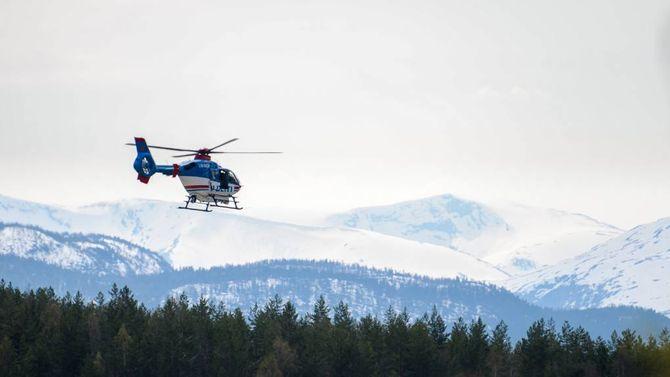 AKSJONAR: Store leiteaksjonar vart sett i gang i forsøket på å finna Christer (37), som forsvann frå turfølgjet sitt på Haukåsen i Sogndal 9.mai. Han vart aldri funnen att. Arkivfoto