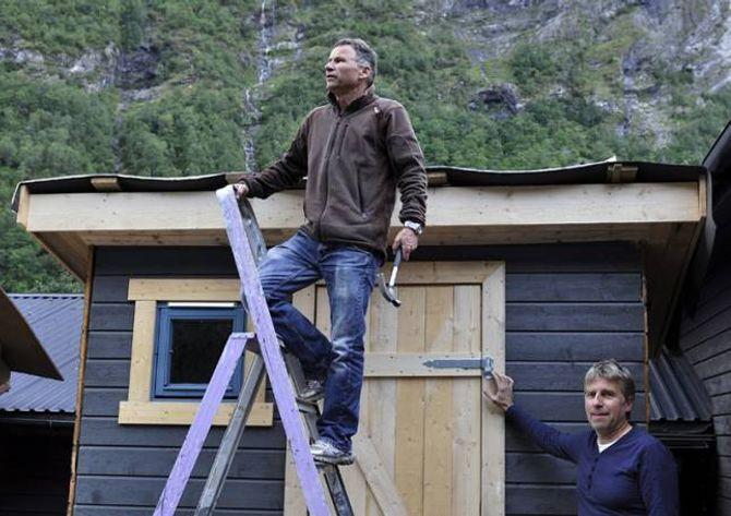 HYTTEUTLEIGE: For ein ganske rimeleg sum kan ein leige ei av fleire hytter som ÅJFF disponerer i fjellheimen. Hyttene er det foreninga sjølv som set saman.