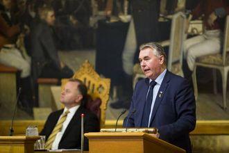 GJER ALLE TIL LAGS: Parlamentarisk leiar i Høgre, Trond Helleland.
