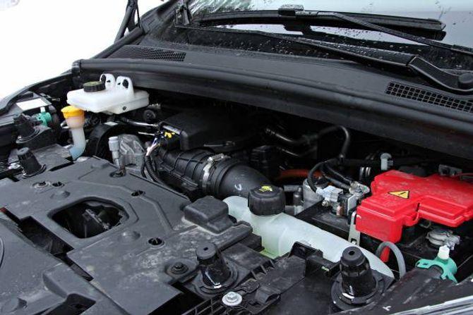 TEKNOLOGI: Det større batteriet får hjelp av ny teknologi for å makse rekkjevidda. Bilen har eit nytt system for å vinne att bremseenergien, ei varmepumpe og spesialdesigna dekk frå Michelin.