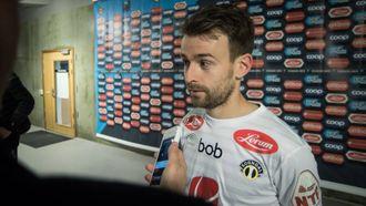 TUNGT: Kaptein Henrik Furebotn dedikerte sigeren til lagkameraten.