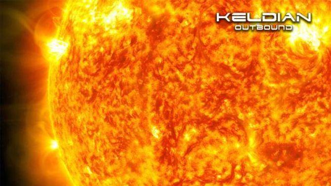 SCI-FI: Covera til alle albuma frå Keldian dreier rundt aurlendingane sin store fascinasjon for verdsrom og science fiction. Cover:Tryfonov