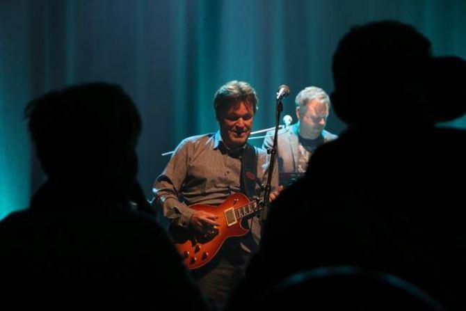RESPEKT: Svein Dag Hauge meiner at ein viktig del av oppskrifta på at bandet har halde saman i 40 år er den gjensidige respekten dei har for kvarandre.