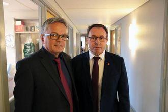 PASSKONTOR I ÅRDAL: I eit brev sendt til politimeisteren i Vest gir rådmann Olve Fossedal og ordførar Arild Ingar Lægreid uttrykk for at dei vil behalde passkontoret i Årdal.