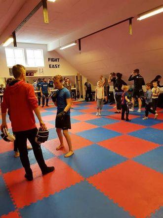 OPEN DAG: Det nye treningssenteret samarbeider med alle kampsportgruppene i Sogndal.