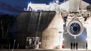 Like bred som et passasjerfly: Boeings nye motor er klar til test