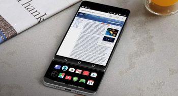 Dette kan være en tidlig utgave av LGs nye V30-mobil
