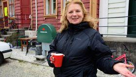ØNSKJER ALLE VELKOMMEN: Astrid Grøndal Trulssen, leiar i julemarknadsnemndi.