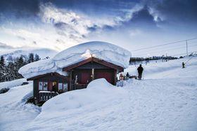 NOK SNØ: Hodlekve er kjent som snøsikkert og blir det truleg òg i framtida.