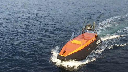 Maritime Robotics er først i verden til å innhente seismikk ved hjelp av et ubemannet fartøy