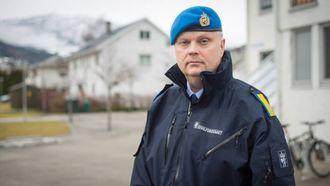 – SKARP TEST: Distriktssjef Stein Morten Rønningen i Sivilforsvaret. Arkivfoto